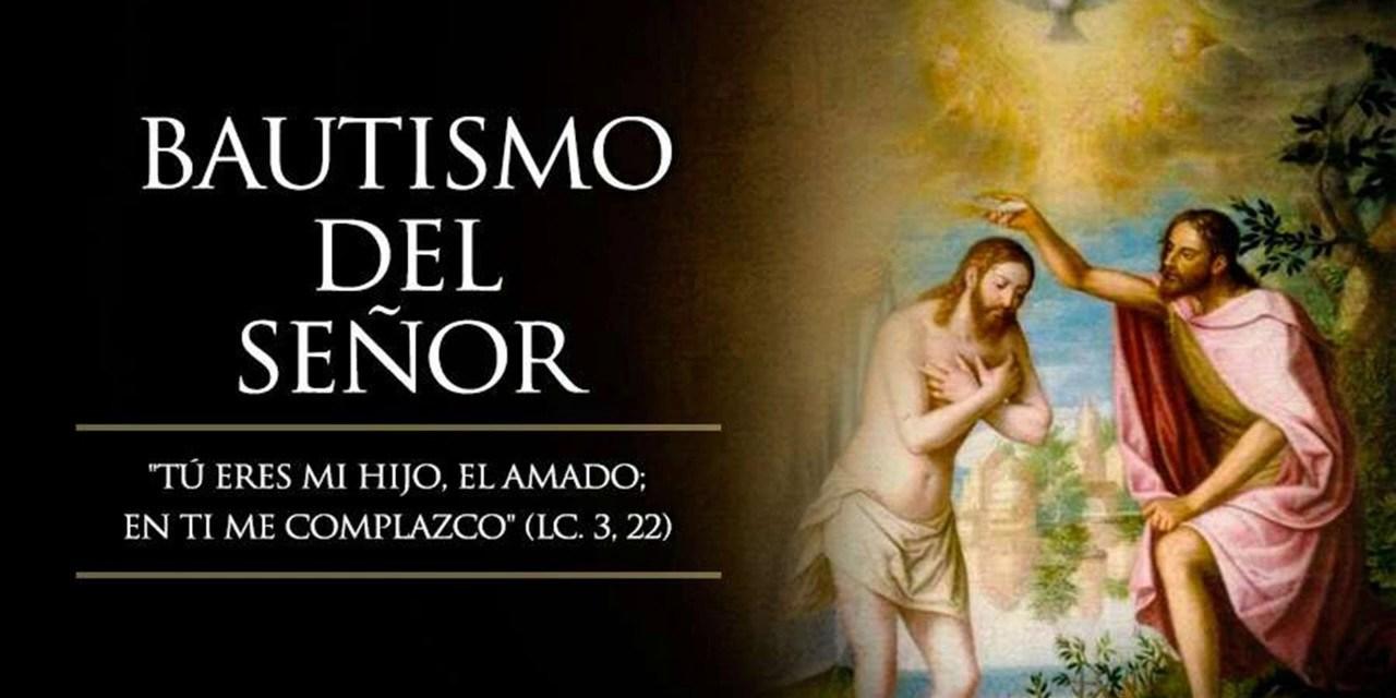 Audio-Evangelio Fiesta del Bautismo del Señor