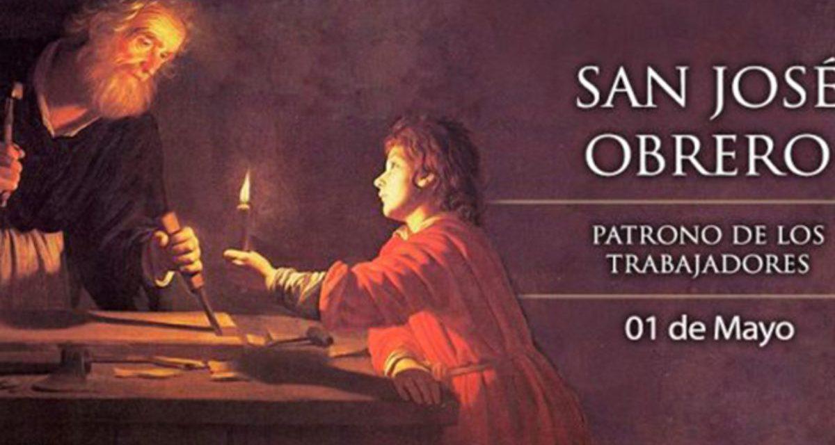 San José obrero (1 de mayo) y lo que del trabajo dice la Doctrina Social de la Iglesia