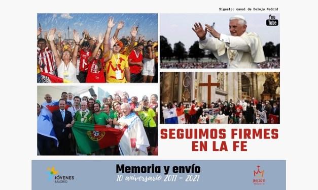 Conmemoración de la Jornada Mundial de la Juventud (JMJ) Madrid 2011
