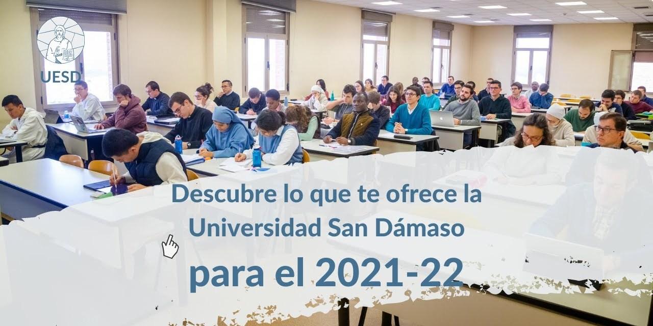 Conozca la oferta formativa de la Universidad San Dámaso para el curso 2021-2022