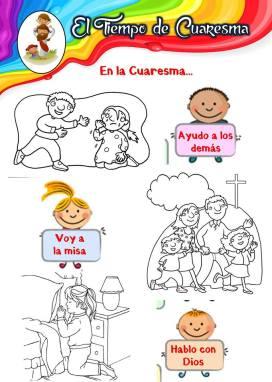en la Cuaresma_colorear
