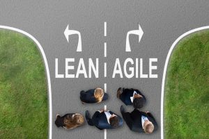 Two roads diverging - Lean and Agile