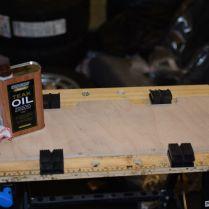 Teak oil. Let's give it a go.