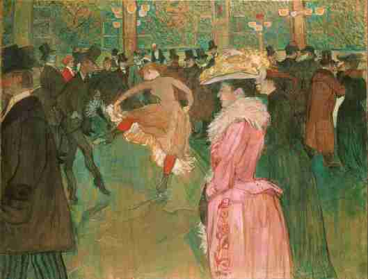 ballo al Moulin Rouge Henry Toulouse -Lautrec (1889 - 1890) Museum of Art, Filadelfia