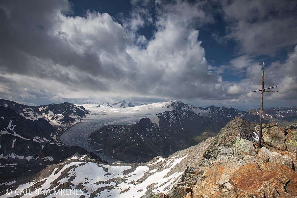 Hintere Ölgrubenspitze, 3.295m, Ötztaler Alpen