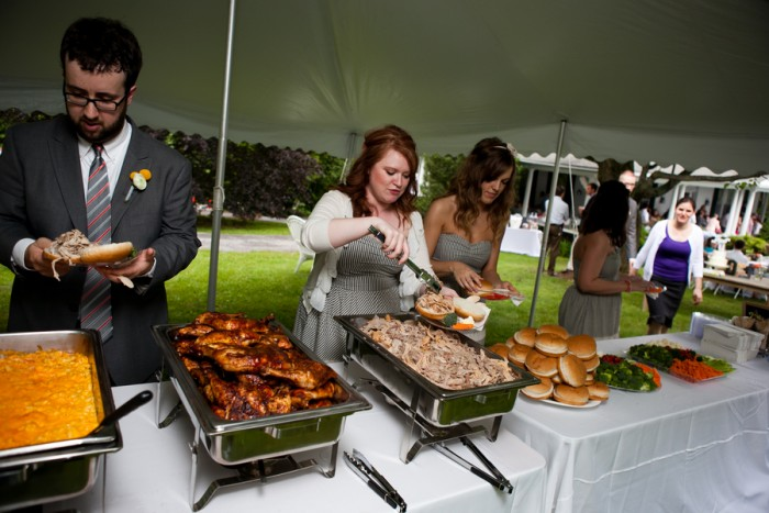 Raleigh Evening Wedding Catering