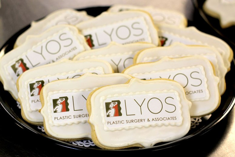 Branded Custom Cookie Desserts with Logos