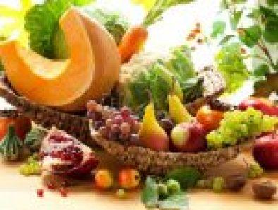 autunno frutta e verdura