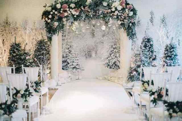 Matrimonio d'inverno…Romantica atmosfera 1
