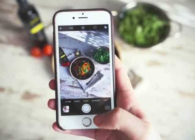 Lavora con noi phone food blogger