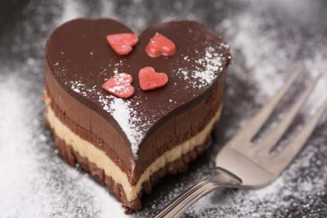 dolce al cioccolato san valentino