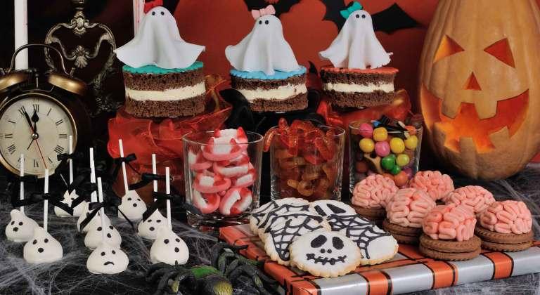 Buffet di Halloween a tema horror
