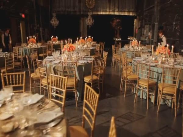 wedding show mise en place