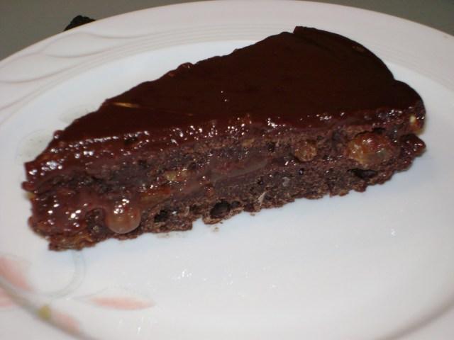 Torta sacher vegan 2