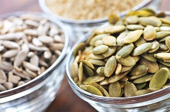 usare i semi in cucina zucca