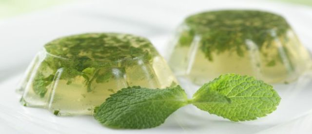 gelatine alcoliche Mojito jello shots