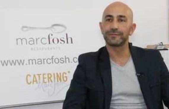 Vídeo para la empresa Catering Marc Fosh, entrevista a Fabrizio Giunta
