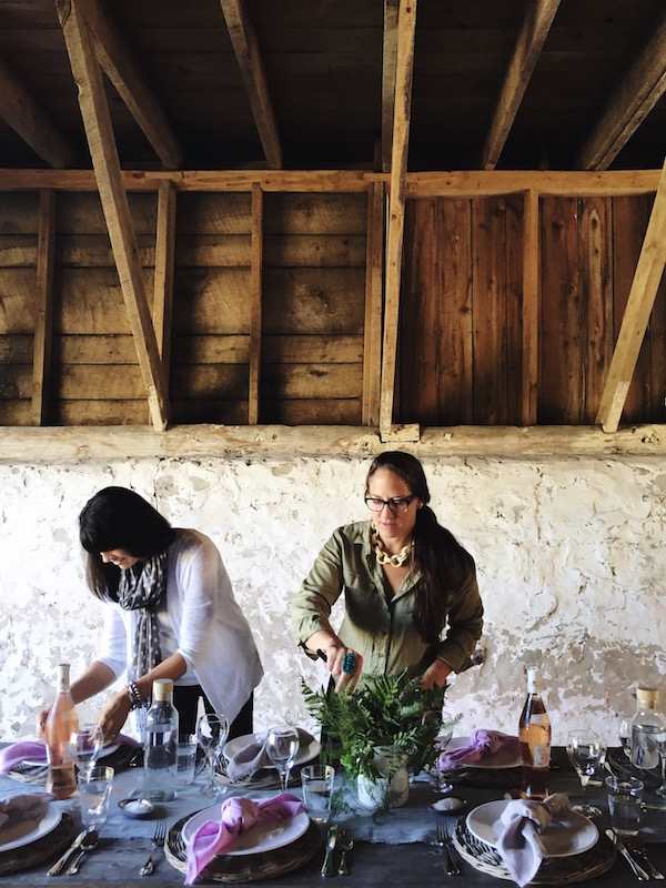 Sarah Peschel and Cammie Buehler Epicure Catering for Midwest Living