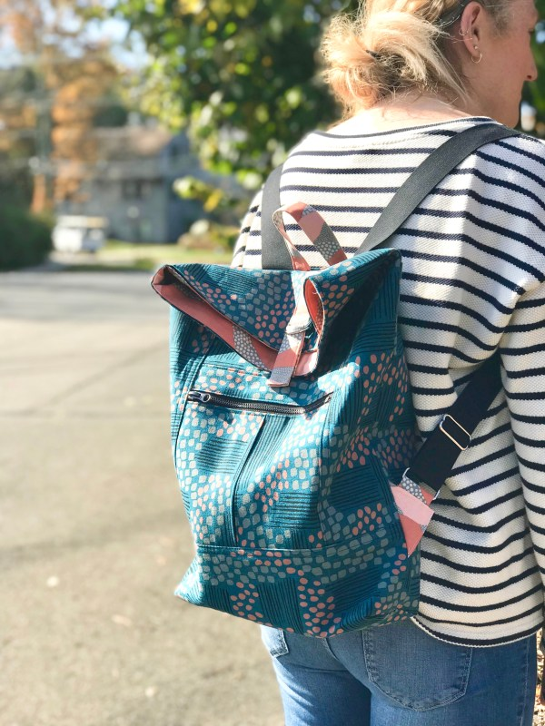 Range Backpack by Noodlehead Patterns
