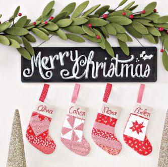 Stocking Ornament Pattern