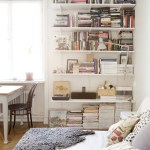 I wish I lived here: white walls and vintage finds