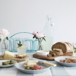 Styling a relaxed summer dining table