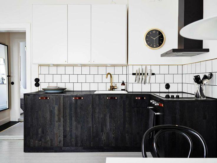 Kitchen Ideas Dark.Dark Minimalist Kitchen Inspiration Cate St Hill
