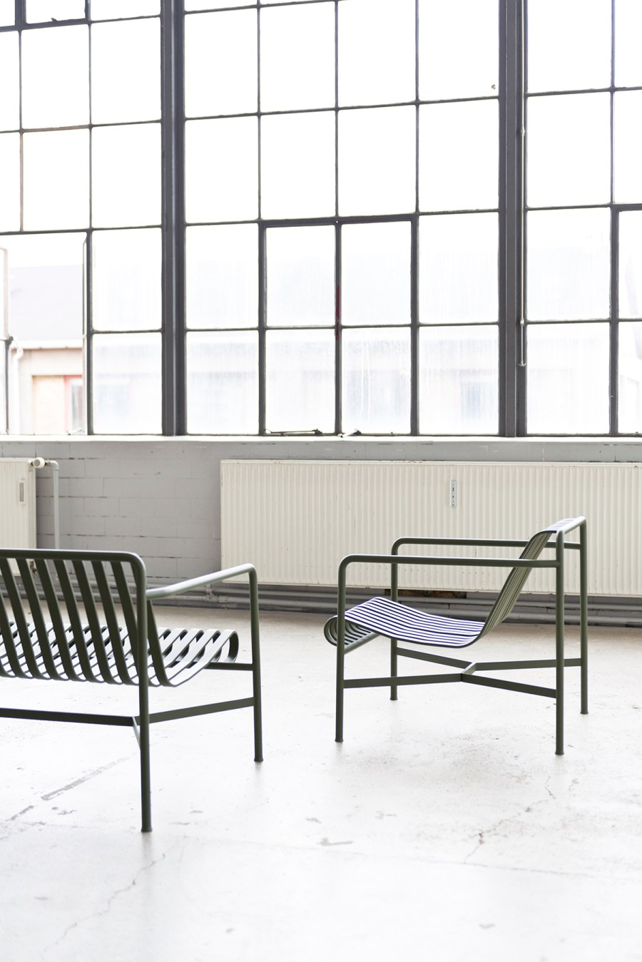 COS x HAY Palissade chairs