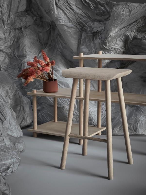 100%Norway 2016: Stilleben by Ann Kristin Einarsen, Stokkit by Osloform and Bow stool by KnudsenBergHindenes