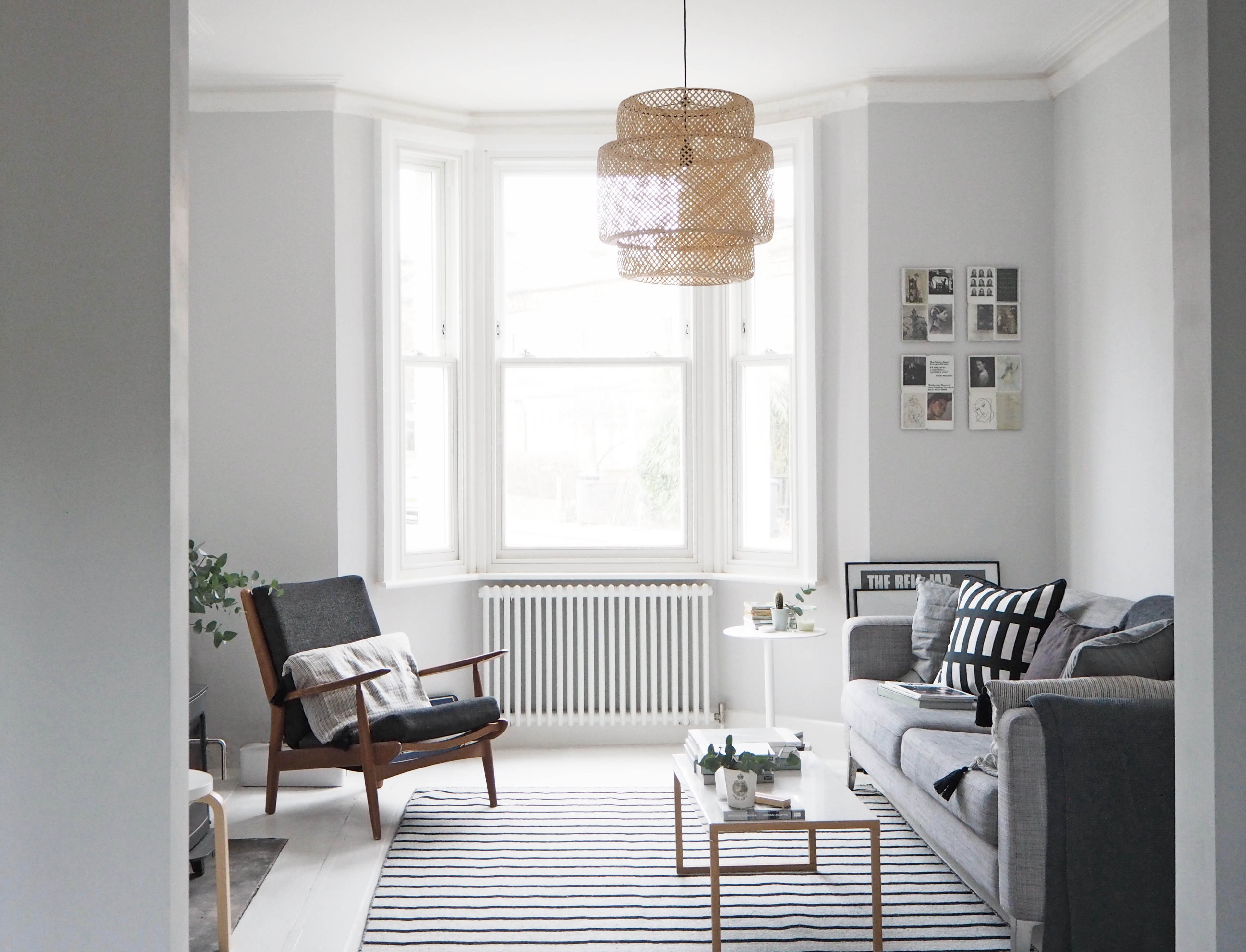 my scandi style living room makeover painted white floors and rh catesthill com