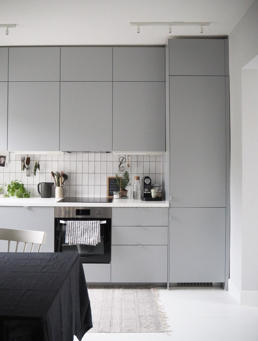 My IKEA Kitchen Makeover The Transformation Cate St Hill - Tiles to go with a grey kitchen