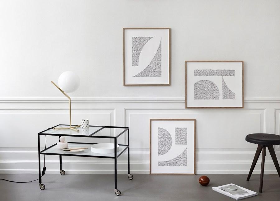 New minimal objects from Kristina Krogh - minimal design - art prints