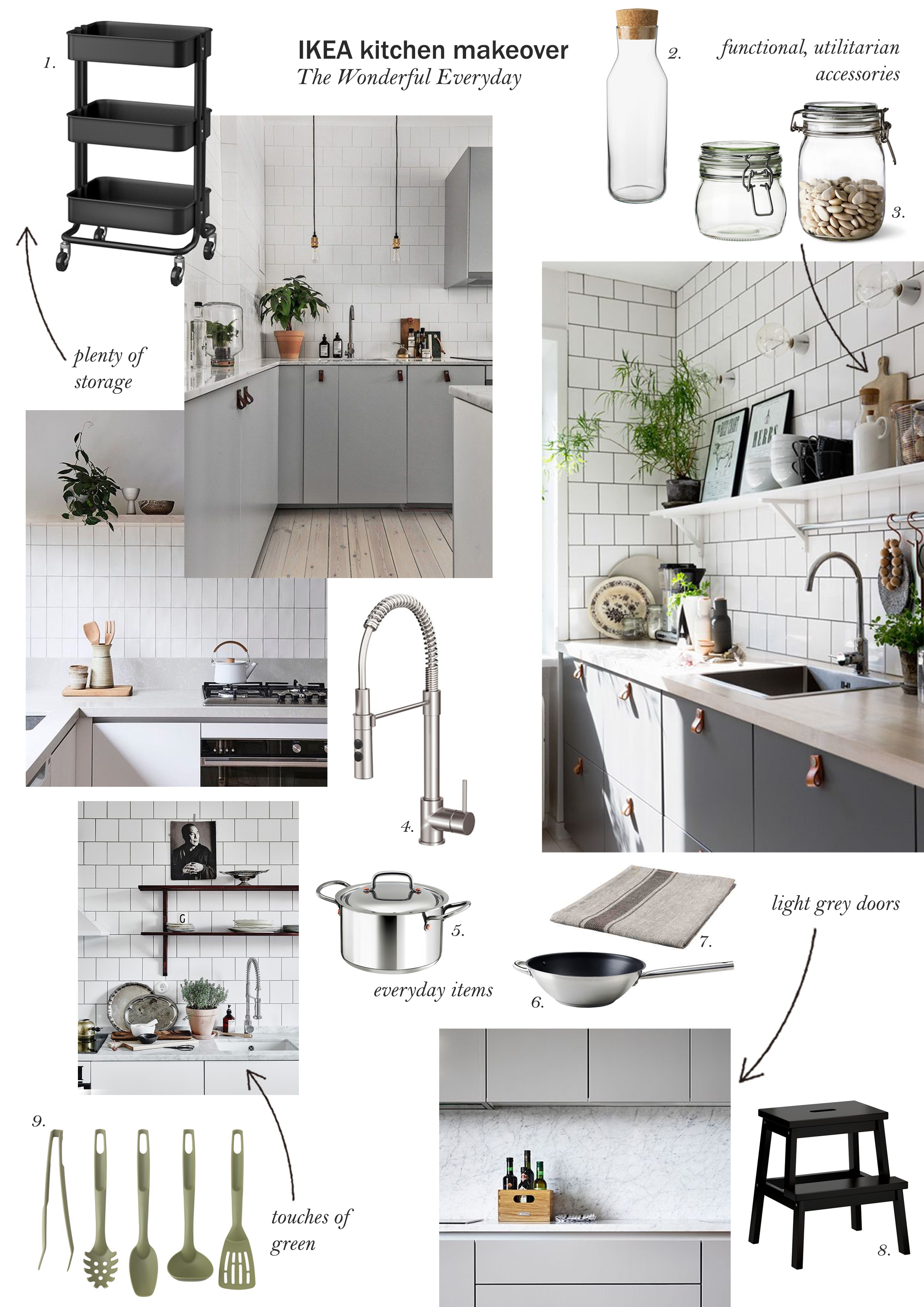 my ikea kitchen makeover the transformation cate st hill rh catesthill com
