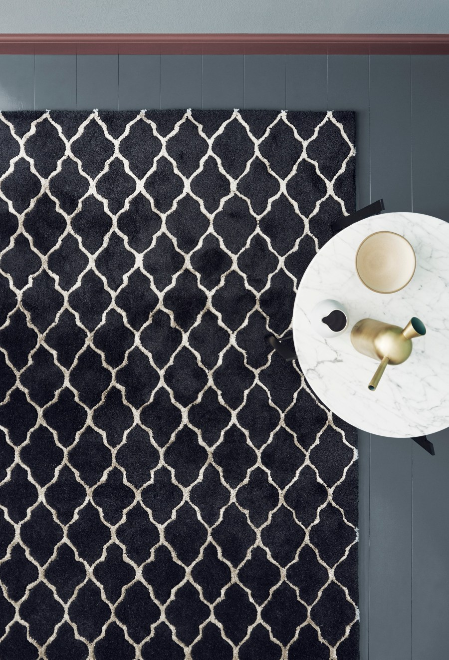 contemporary Scandinavian rugs from Linie Design at Woven