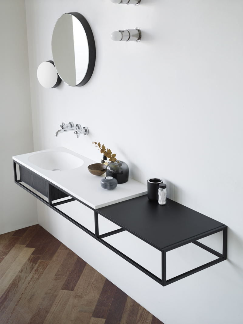 Latest launches for simple, contemporary bathrooms - Norm Architects Frame collection
