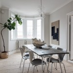 I wish I lived here: white and light grey create a calm interior