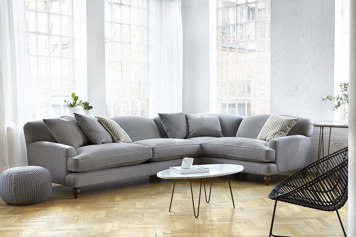 Gentil Tips For Choosing A Sofa To Suit Your Home   Galloway Corner Sofa By  Darlings Of