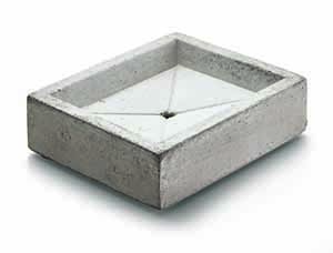 Manufactum Cement Soap Dish - 67339