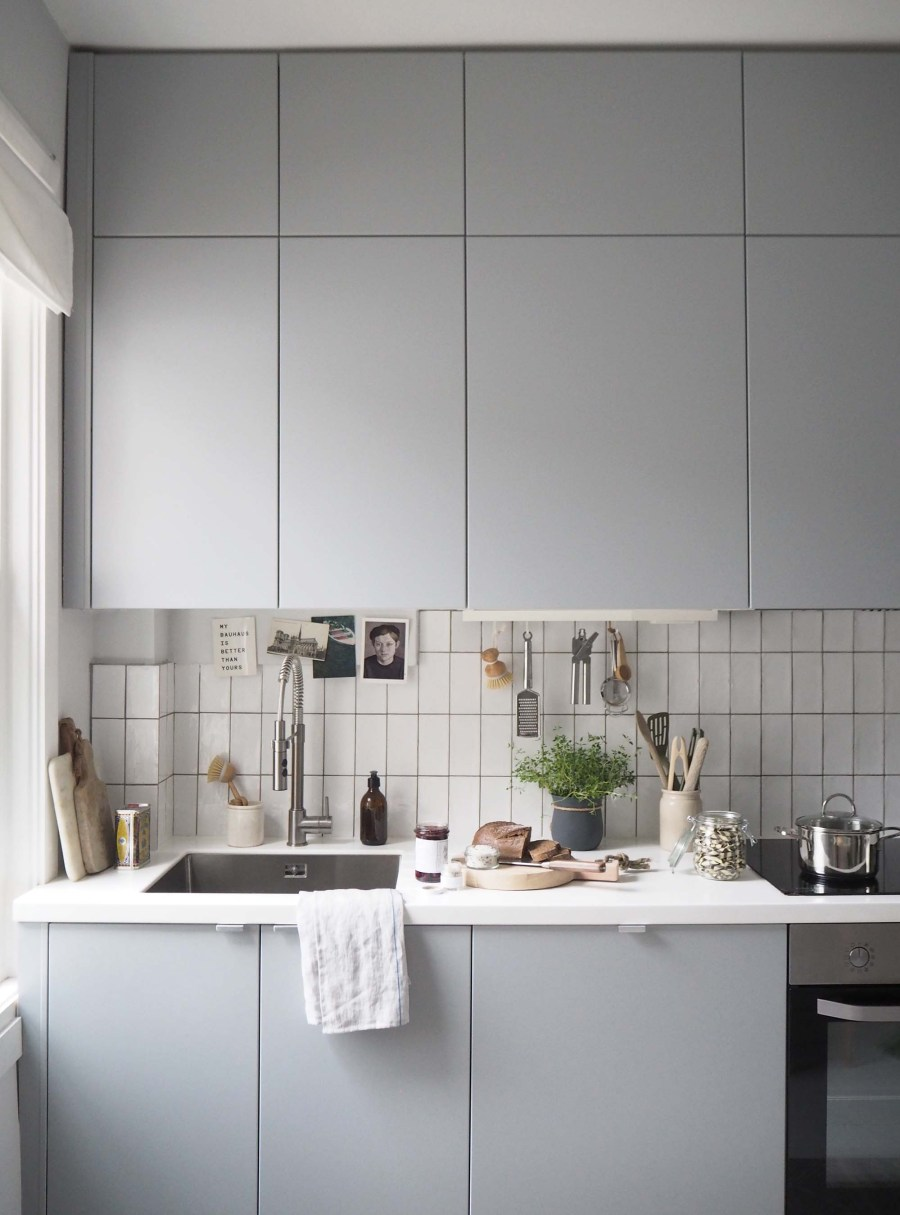 Light grey Scandinavian kitchen inspiration - Affordable everyday kitchen essentials from Homesense