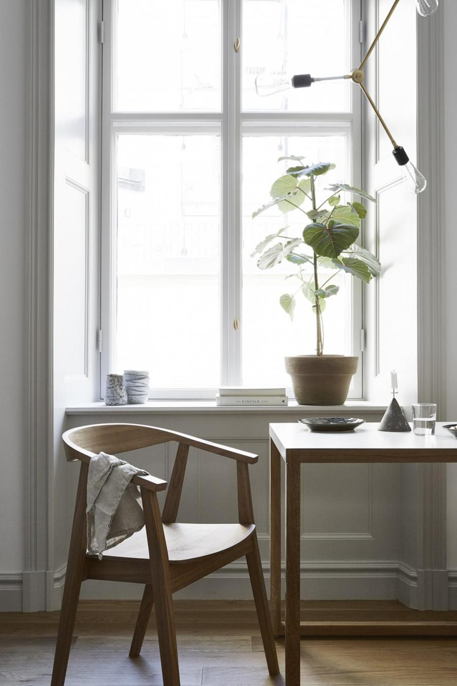 I wish I lived here: neutral small space living in Stockholm