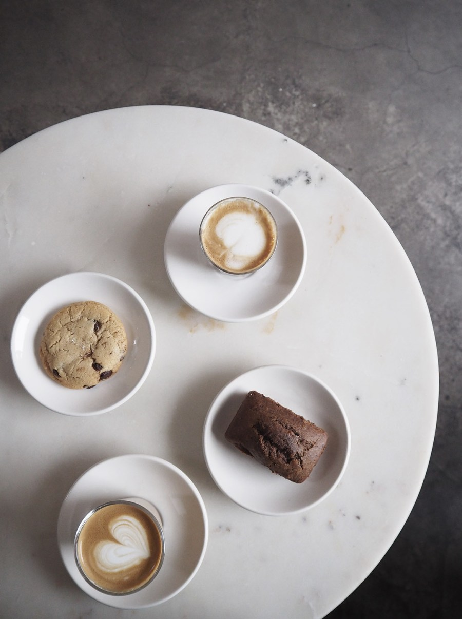 Coffee - Happy Bones NYC. New York coffee. Travel: An instagrammer's design guide to New York City