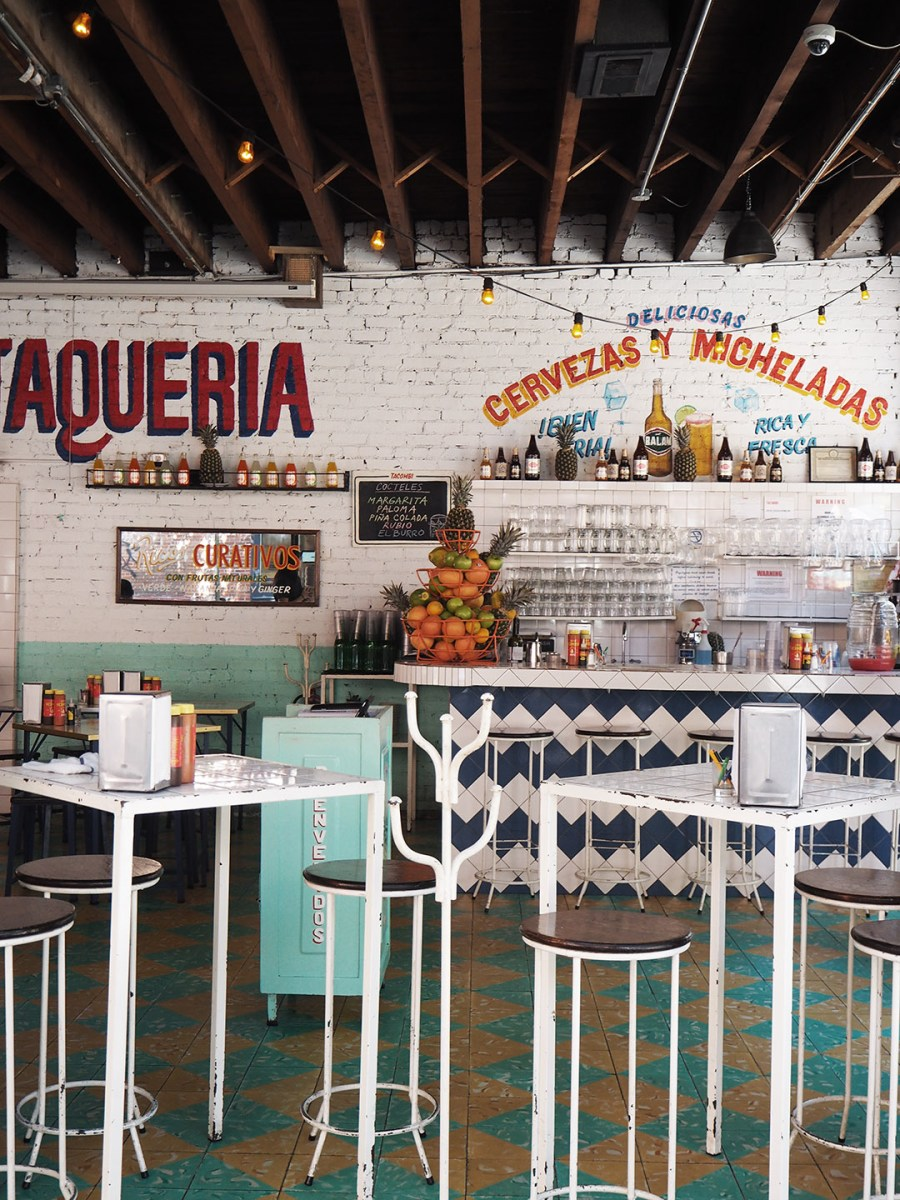 Tacombi taqueria New York. Travel: An instagrammer's design guide to New York City