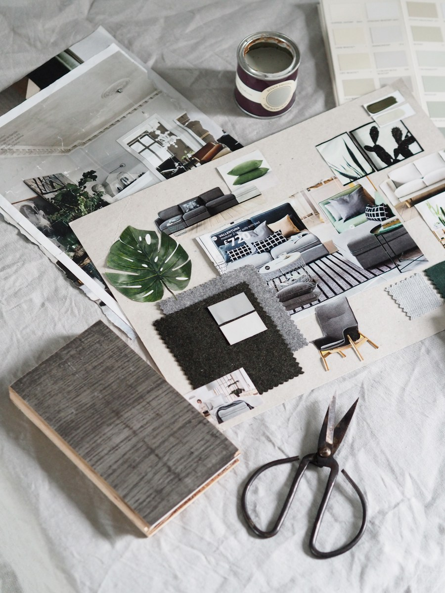 Tips for redecorating your home - make a mood board