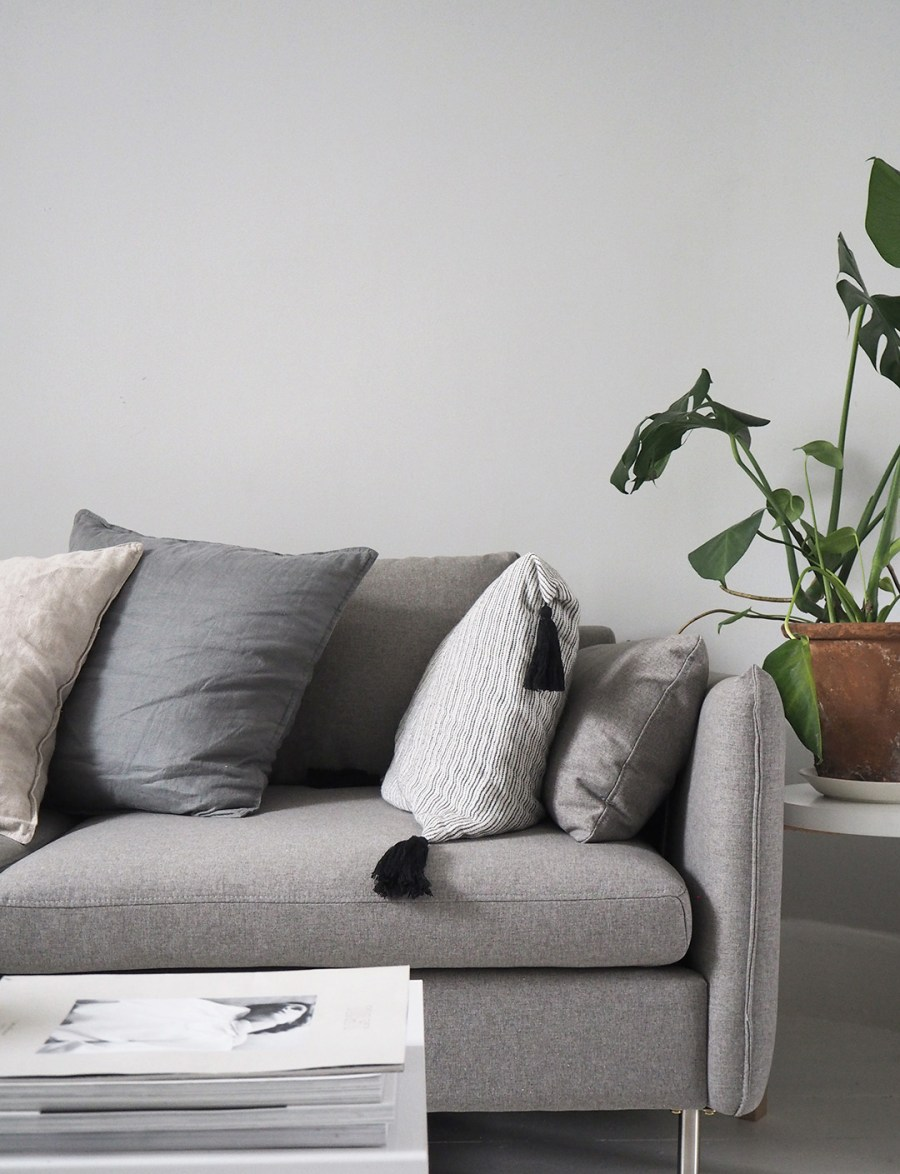 Our new Vento grey corner sofa from Made.com - cate st hill