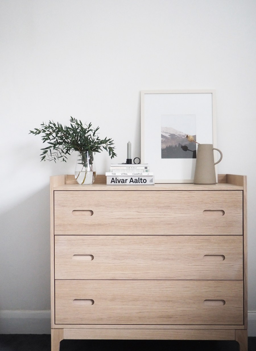 A simple guest bedroom update with Heal's Morten collection