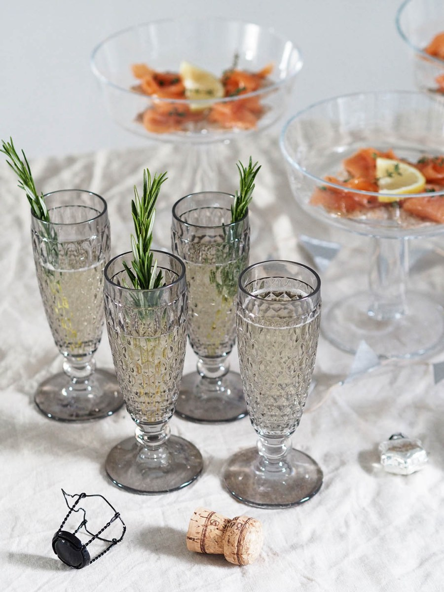 Simple New Year's entertaining ideas for the festive party season with Villeroy & Boch