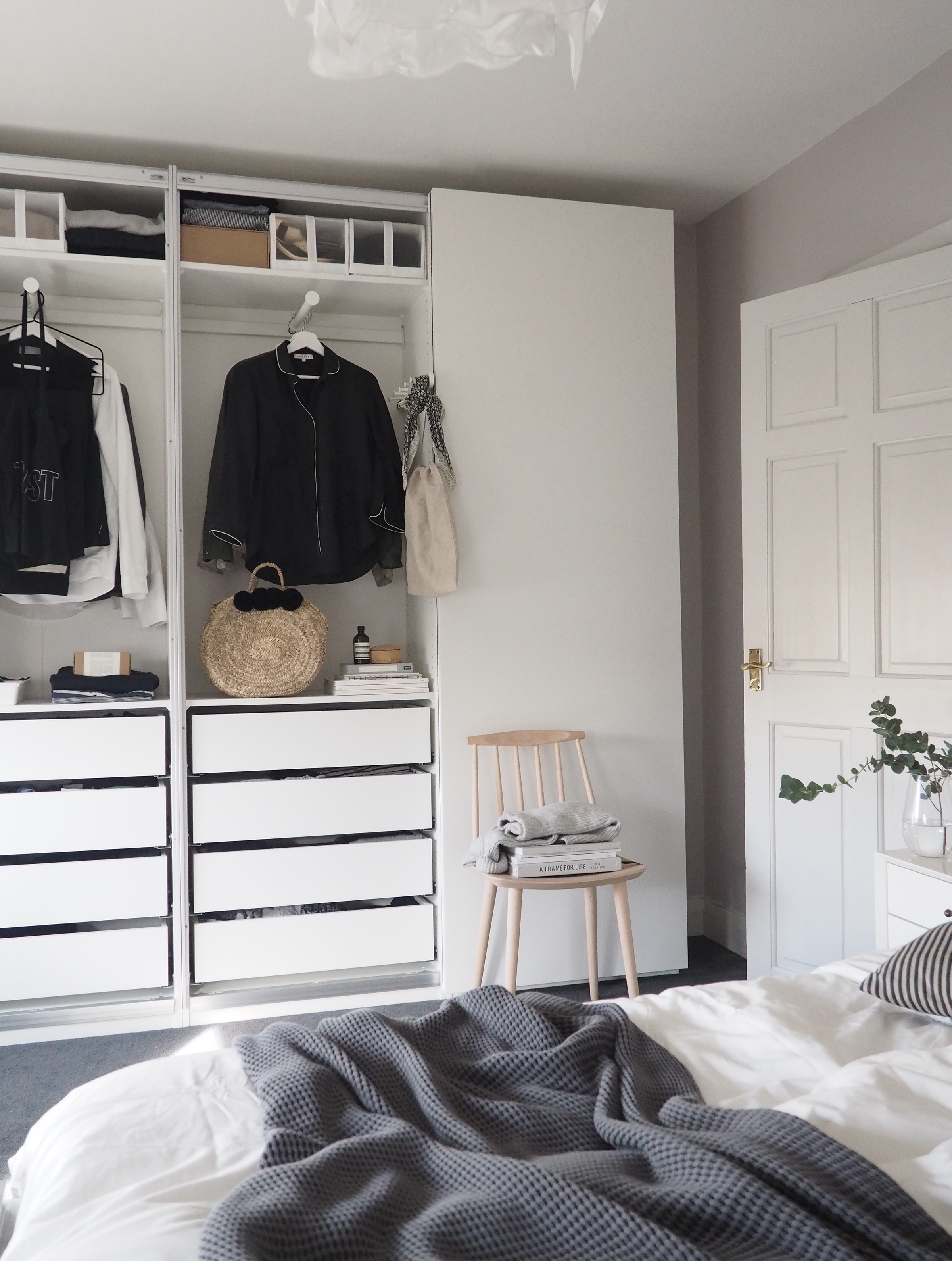 Bedroom Updates Getting Organised With Ikea Pax Wardrobes Cate St