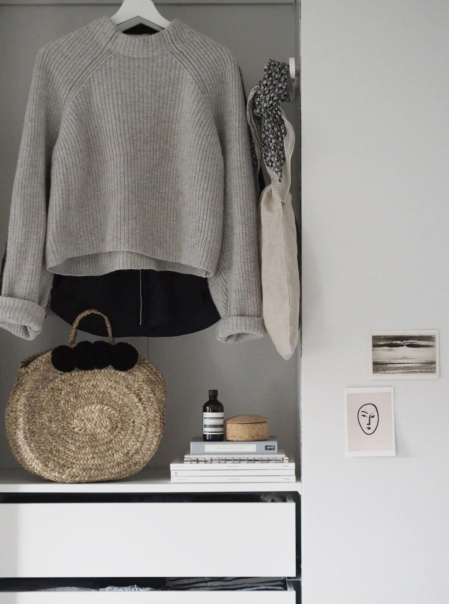 Bedroom updates: getting organised with IKEA PAX wardrobes - cate st