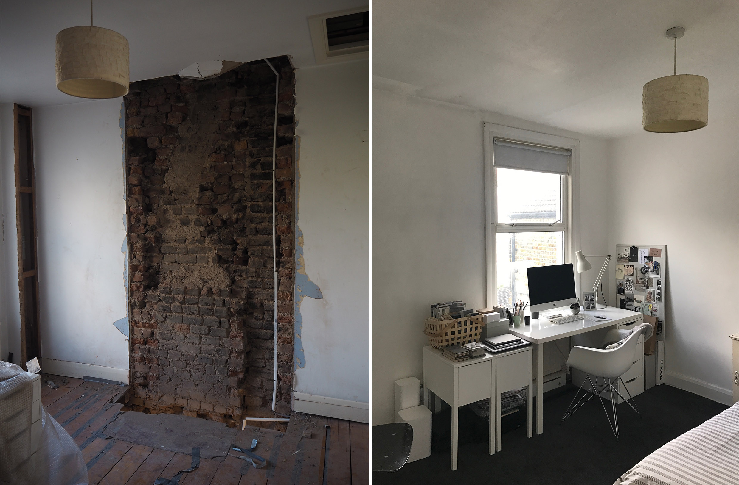 BEFORE   My Cosy, Grey Home Office Makeover U2013 Before + Mood Board  Inspiration