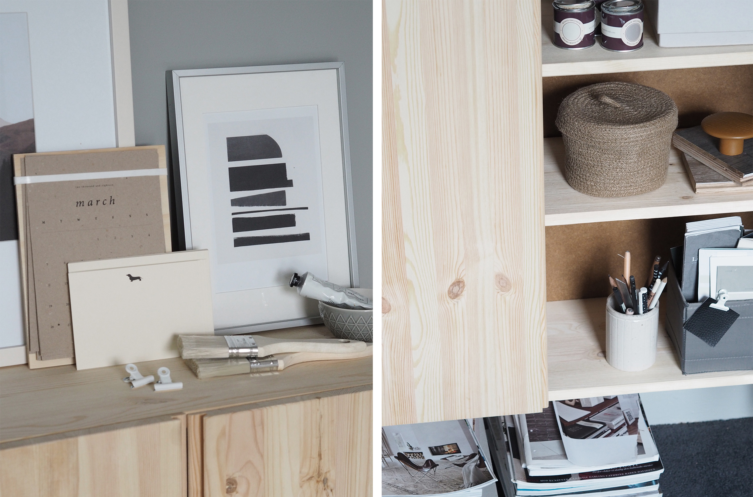 grey home office. A Cosy, Grey Home Office For Freelance Creative - My Makeover Reveal R